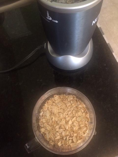 oats for the healthy lemon bars