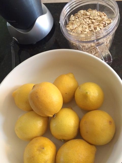 lemons for the healthy lemon bars