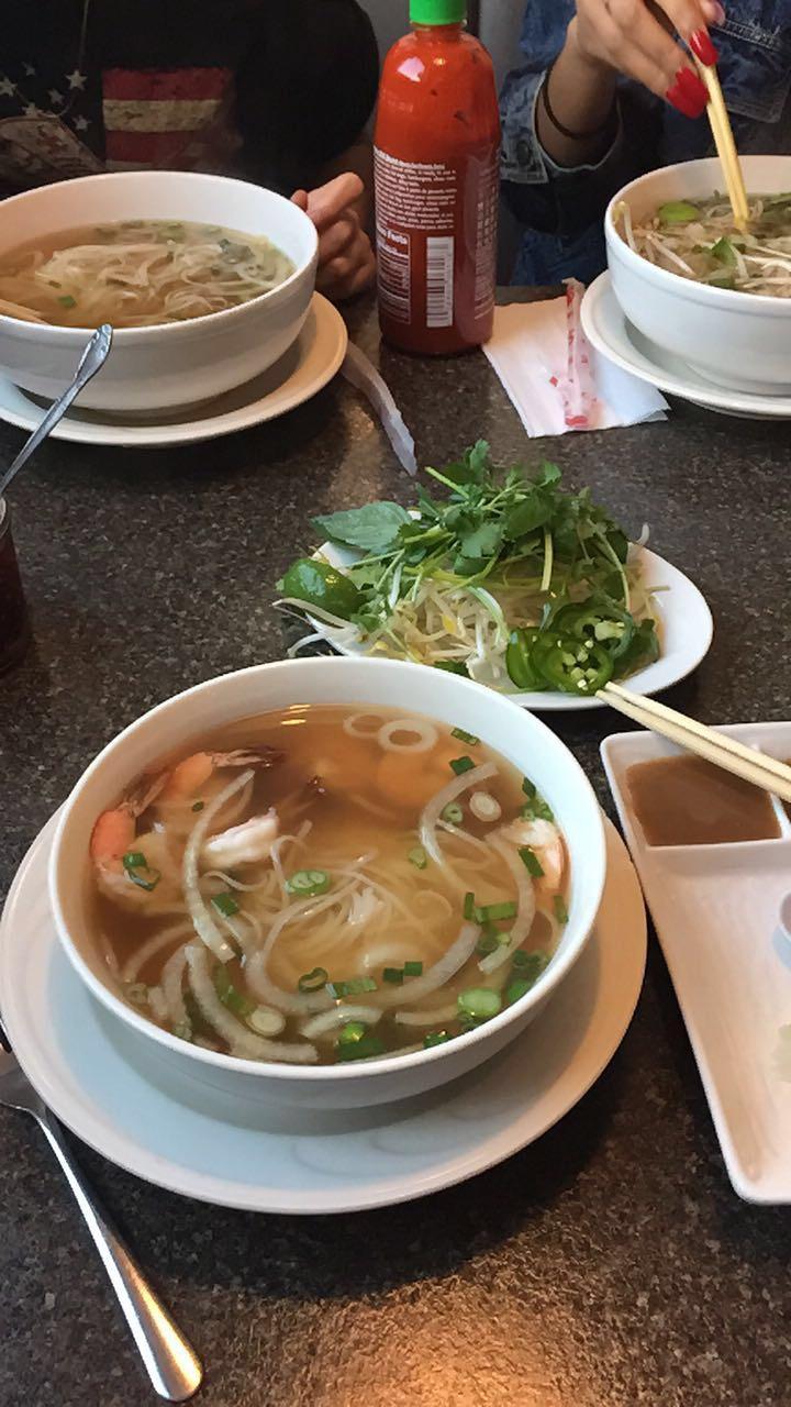 pho bac has amazing food
