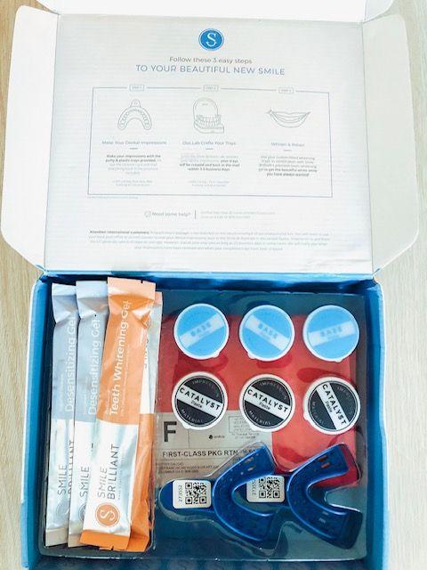 smile brilliant kit for teeth whitening