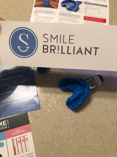 smile brilliant for teeth whitening